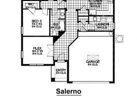 Salerno Floor Plan
